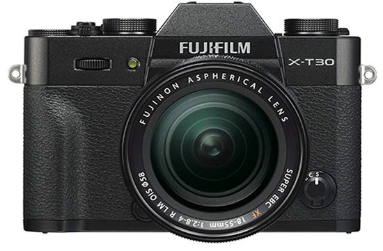 Fujifilm X-T30 mirrorless camera
