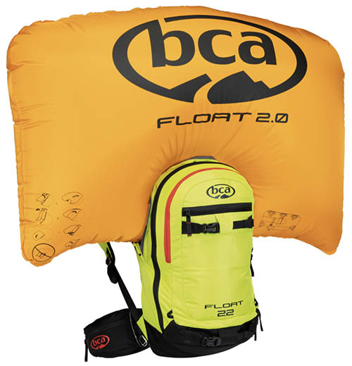 Backcountry Access BCA Float 2.0 22L avalanche airbag ski backpack