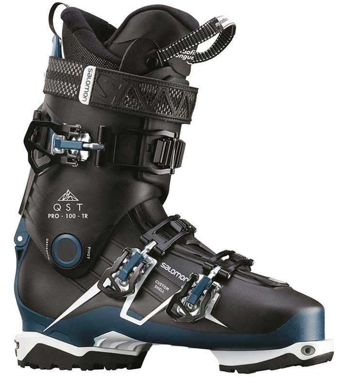 Salomon QST Pro 100 TR backcountry touring ski boot 1
