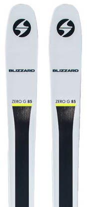 Blizzard Zero G 85 backcountry ski
