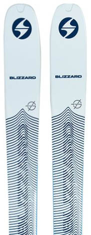 Blizzard Zero G 85 backcountry touring skis