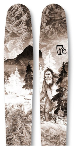 Icelantic Natural 101 backcountry skis_0