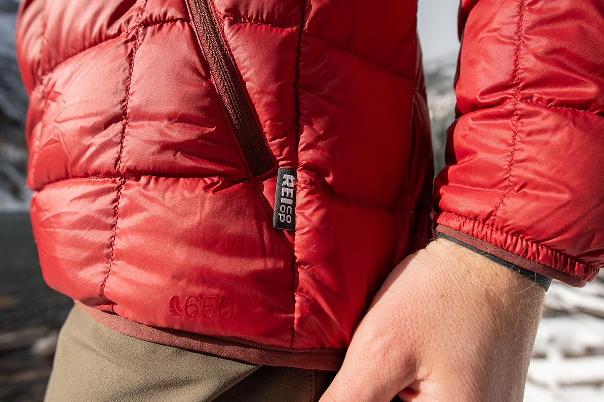Down Jackets (REI Co-op 650 2.0 logo)