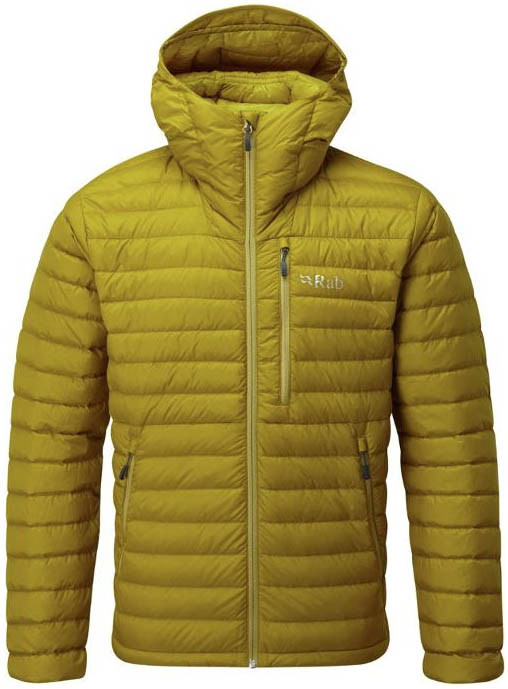 Rab Microlight Alpine down jackets