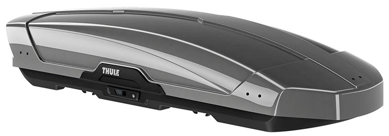 Thule Motion XT XL grey rooftop cargo box