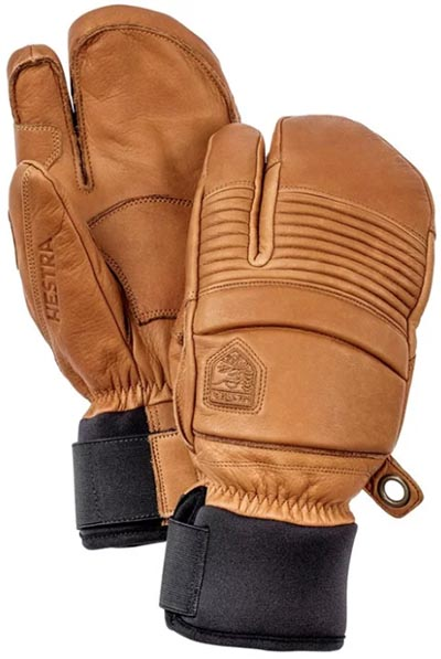 Hestra Fall Line 3-Finger ski gloves