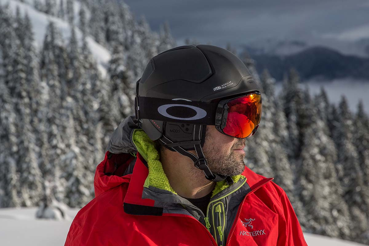 Oakley goggle and helmet fit