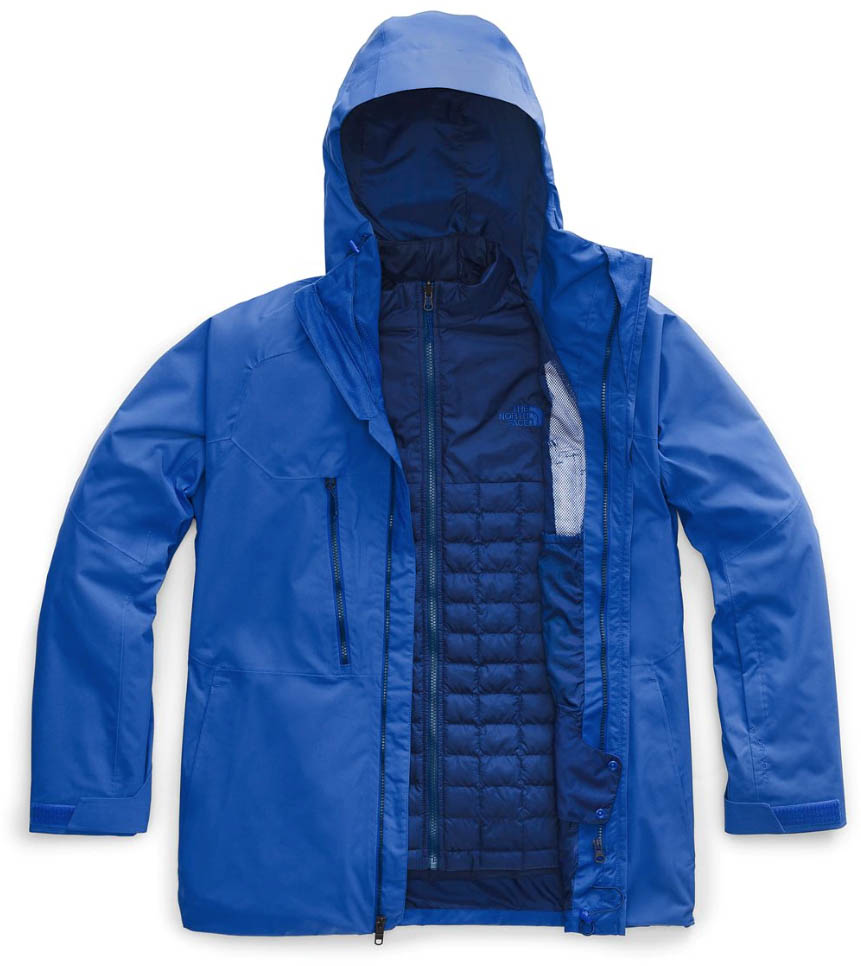 The North Face Thermoball Eco Triclimate ski jacket