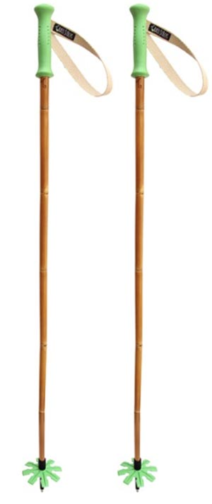 Grass Sticks Original Bamboo Downhill ski poles