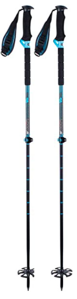 K2 Lockjaw Carbon Adjustable ski poles
