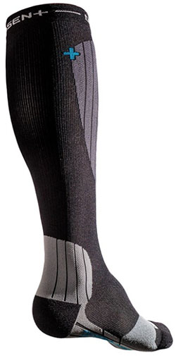 Dissent Ski GFX Compression Hybrid Protect Sock