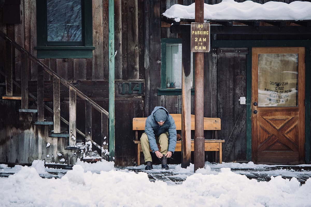 Winter Boots (mountain town)