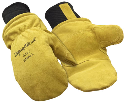 Refrigiwear Insulated Leather Mitt