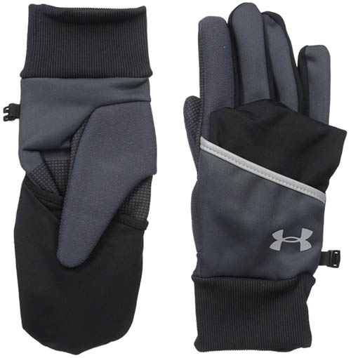 Under Armour Convertible ColdGear Reactor Run gloves