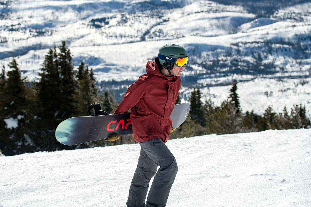 Snowboard Jacket (hiking with Volcom L Gore-Tex)