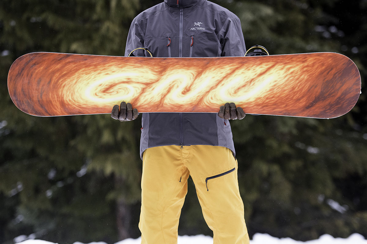 All-mountain snowboard (base)