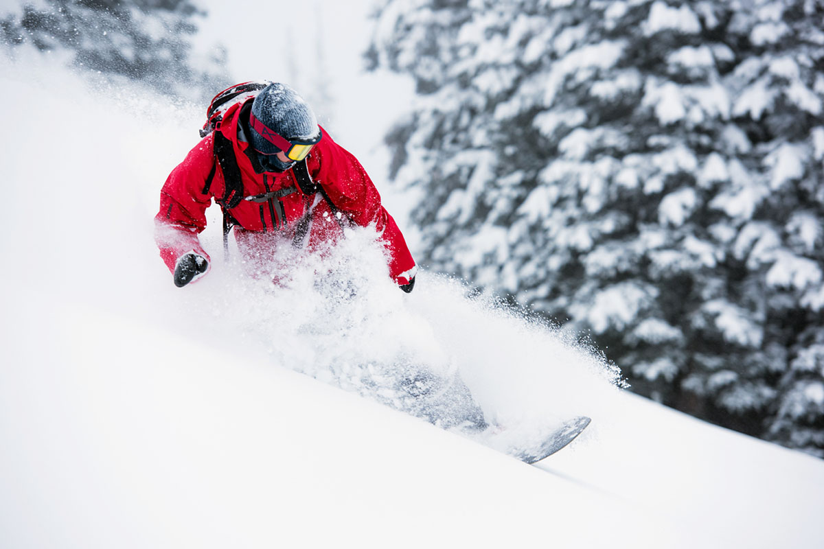 All-mountain snowboard (powder)