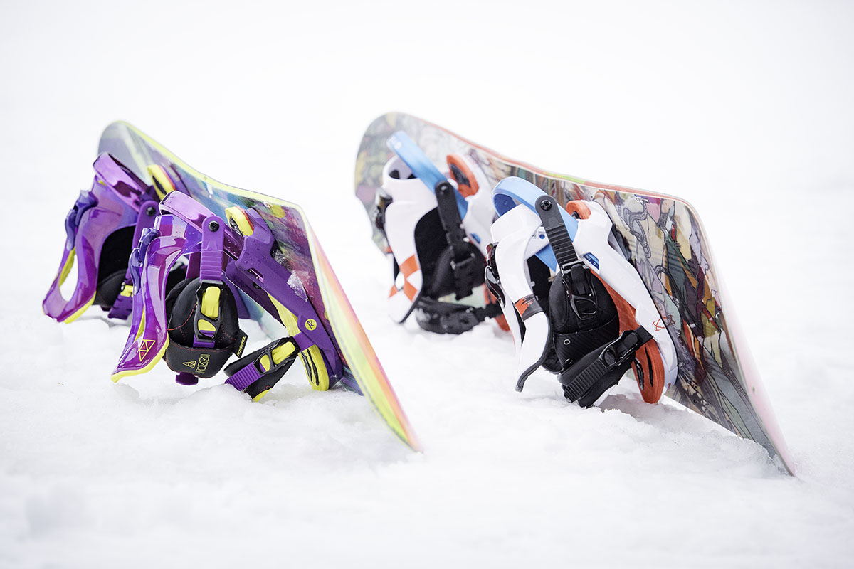 All-mountain snowboards (shape)