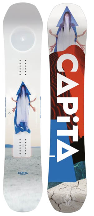 CAPiTA Defenders of Awesome all-mountain freestyle snowboard