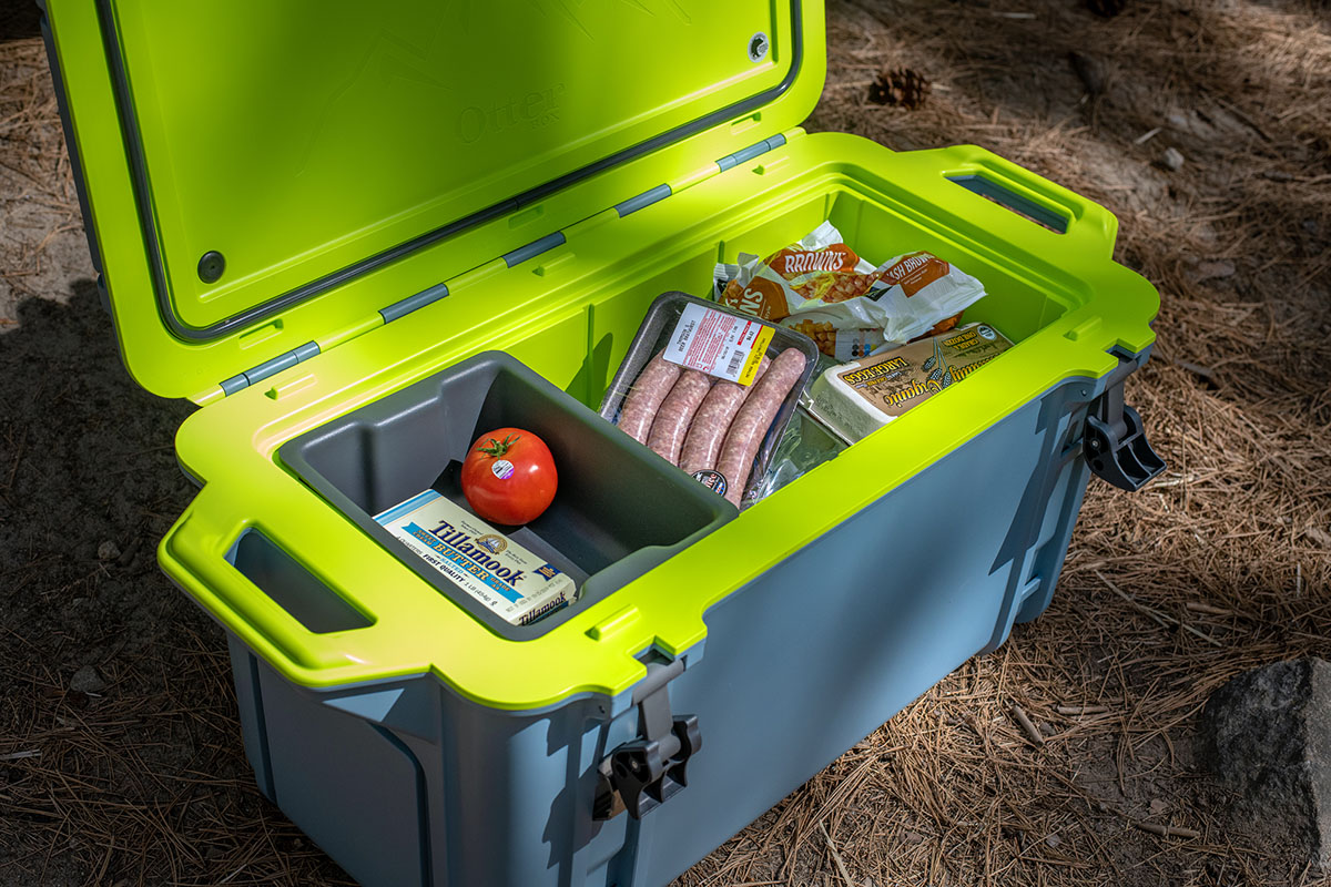 Cooler (OtterBox Venture 65 with food)