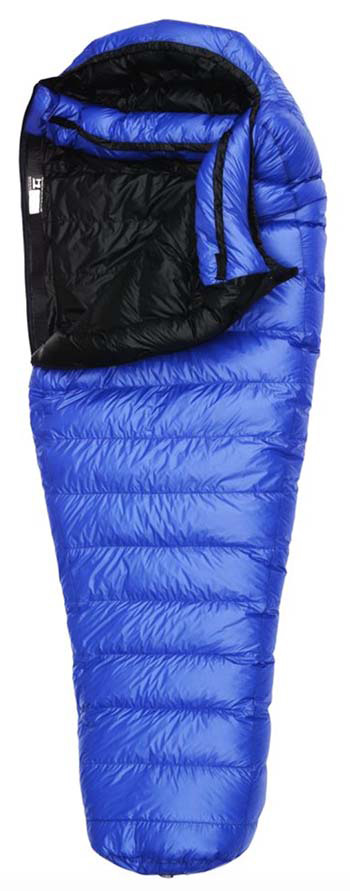Western Mountaineering UltraLite sleeping bag