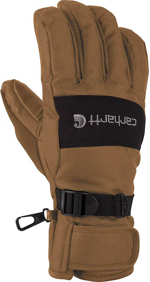 Carhartt WB waterproof breathable winter glove front