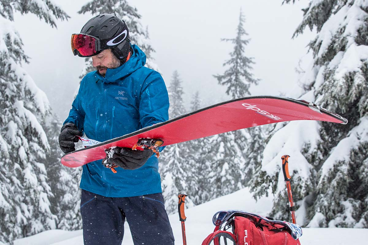 Backcountry Skiing Checklist (DPS)