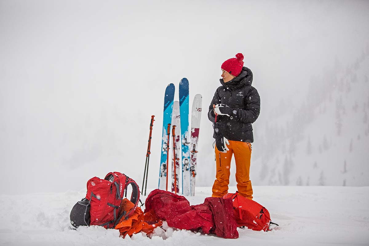 Backcountry Skiing Checklist (down)
