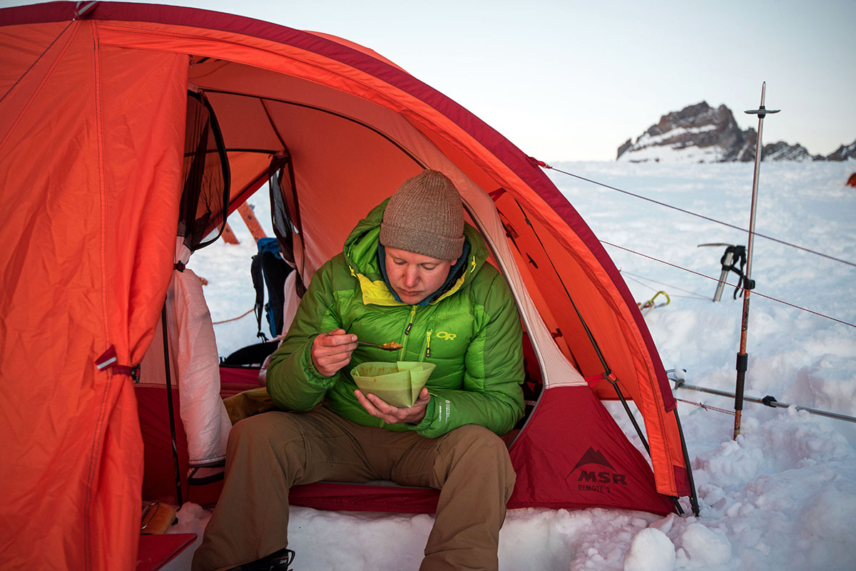 Winter Camping Checklist (eating)