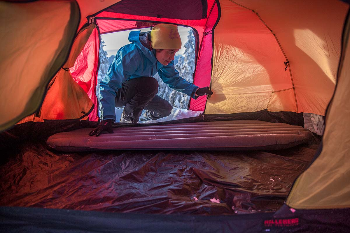 Winter Camping Checklist (sleeping pad 3)