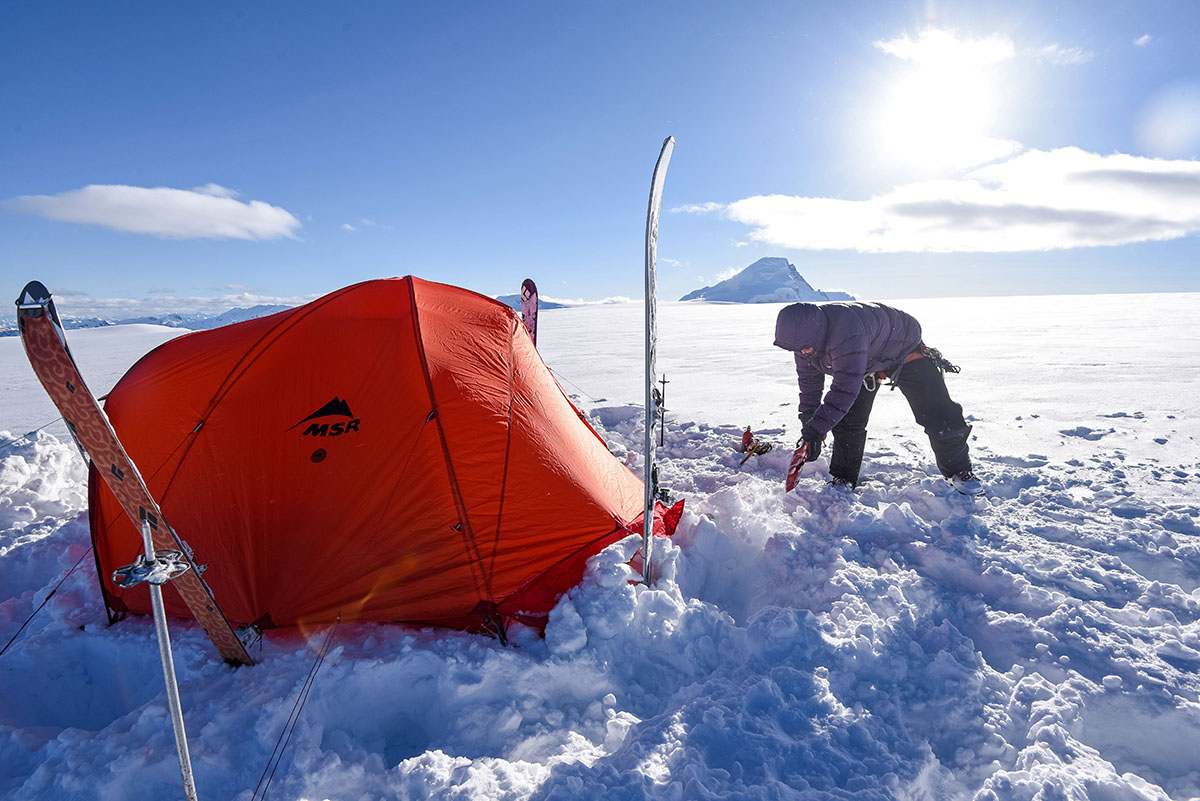 Winter Camping Checklist (tent)