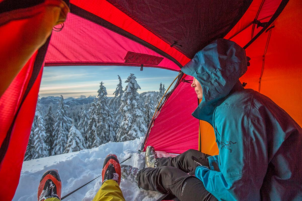 Winter Camping Checklist (view from inside)