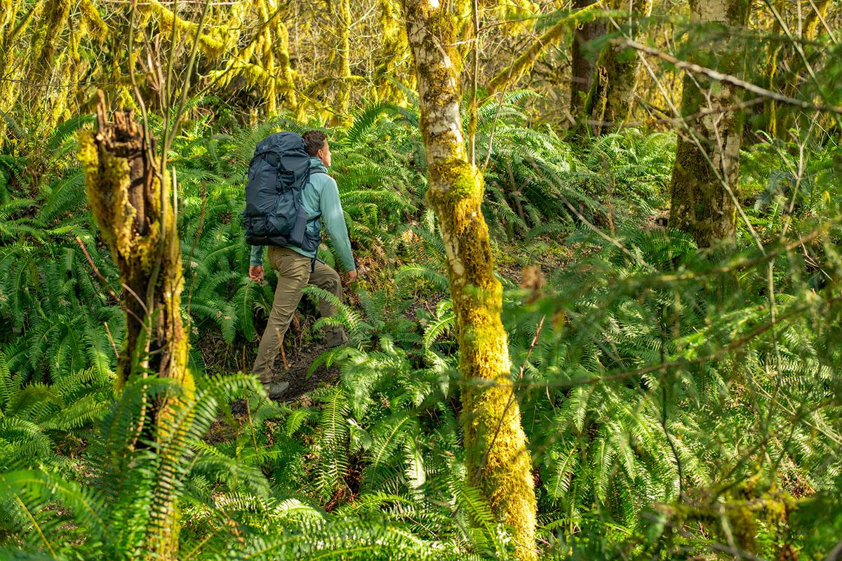 Arc'teryx Atom SL Hoody (senderismo en una densa selva tropical)