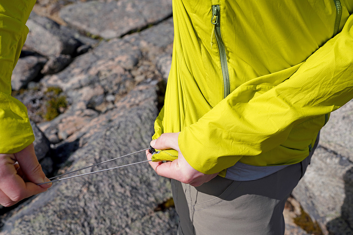 Arc'teryx Atom SL Hoody synthetic jacket (hem adjustment)