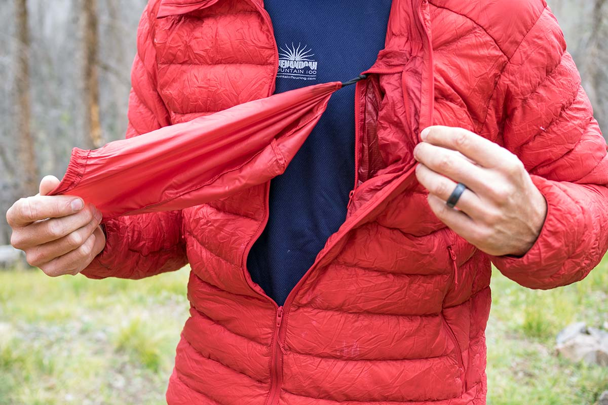 Arc'teryx Cerium LT Down Jacket (stuff sack)