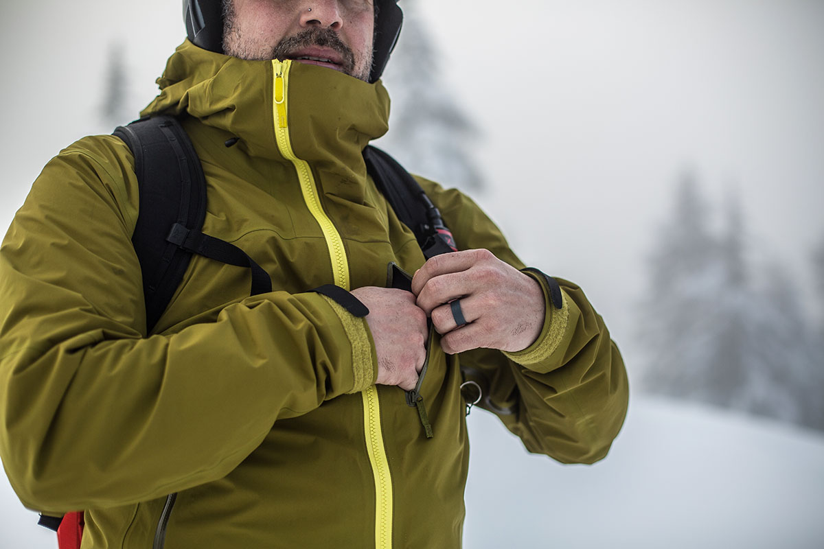Arc'teryx Sidewinder (chest pocket)