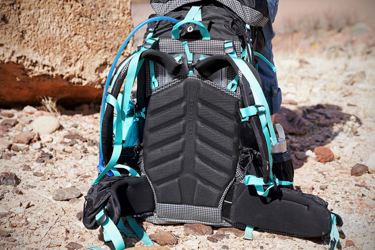 Granite Gear Blaze 60 (back panel)