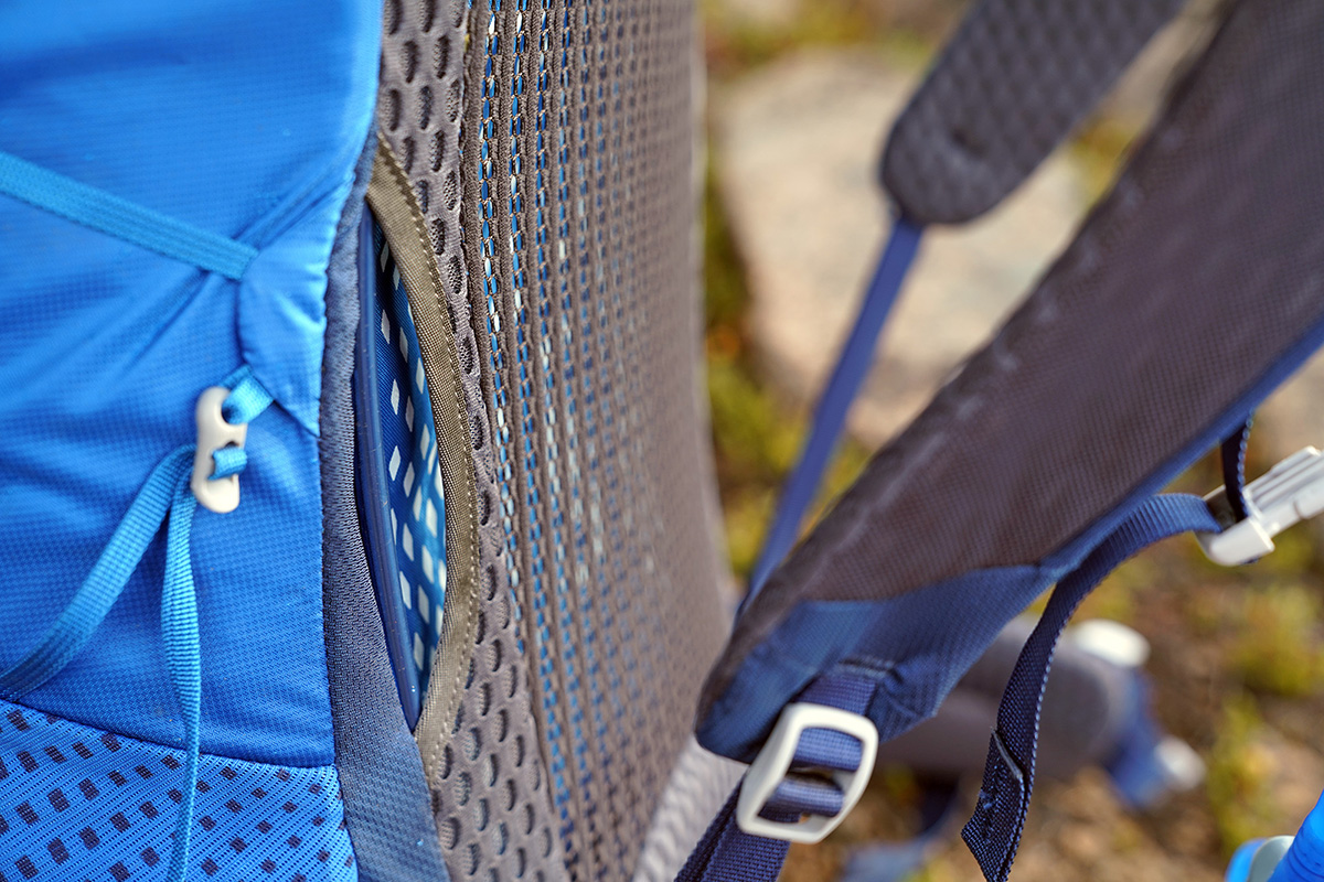 Gregory Optic 58 backpacking pack (suspended mesh backpanel)