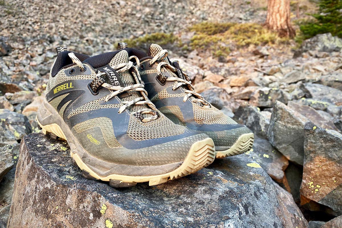 Merrell MQM Flex 2 hiking shoe (toe protection)