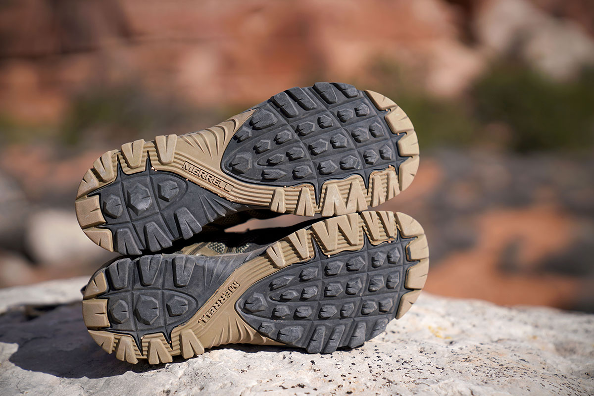 Merrell MQM Flex hiking shoes (traction)