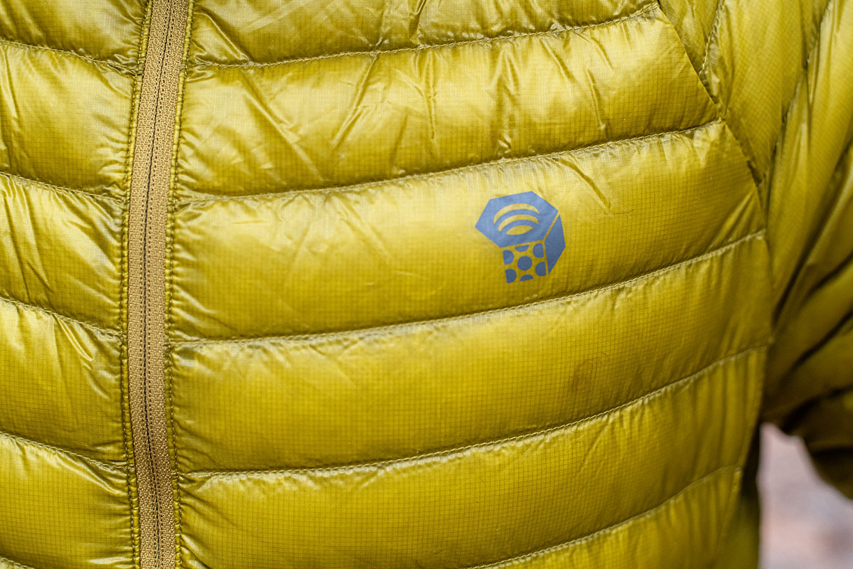 Mountain Hardwear Ghost Whisperer 2 (durability)
