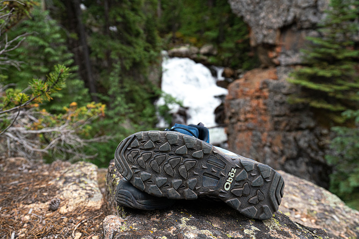 Oboz Arete hiking shoes (traction)