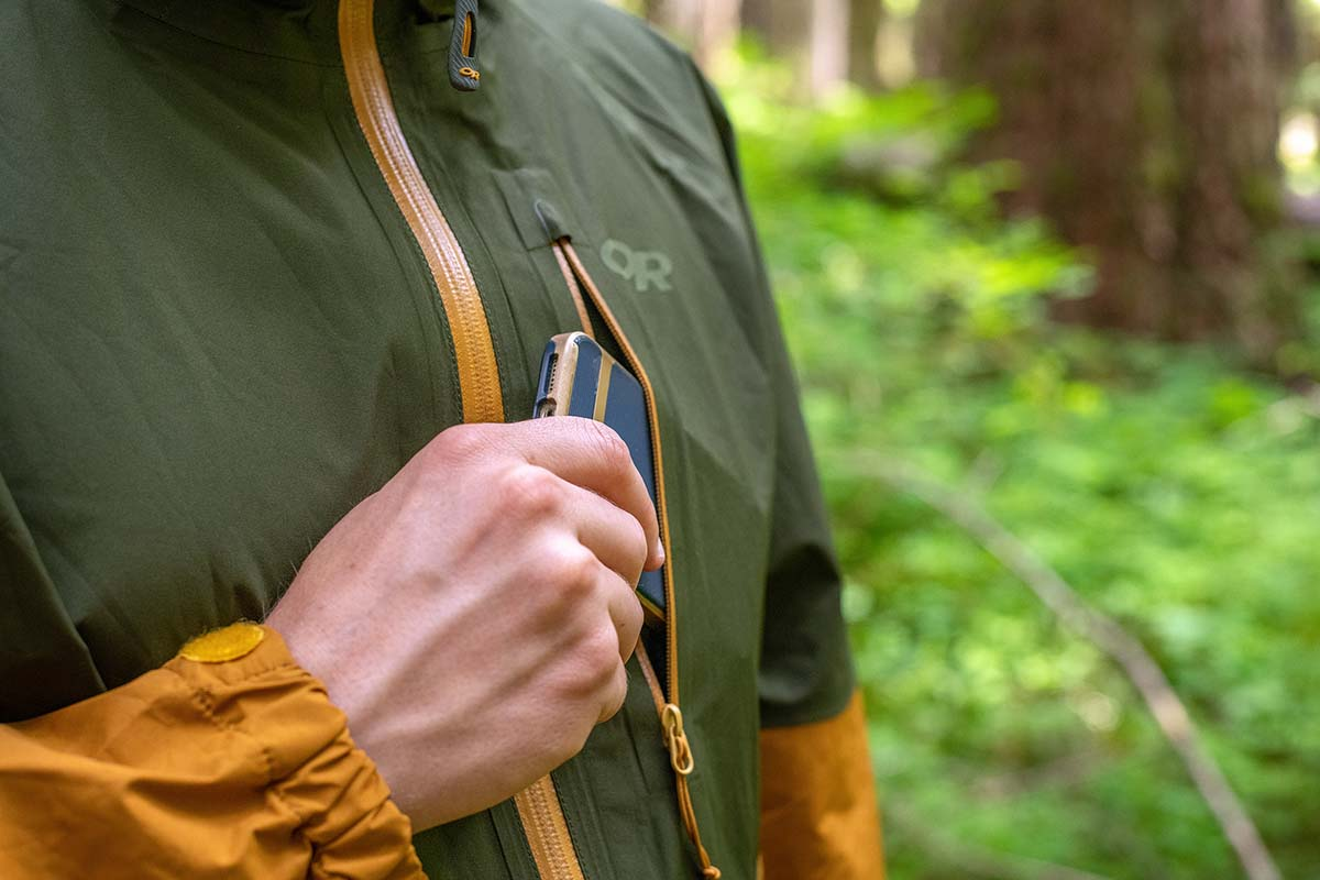 Outdoor Research Foray (chest pocket)