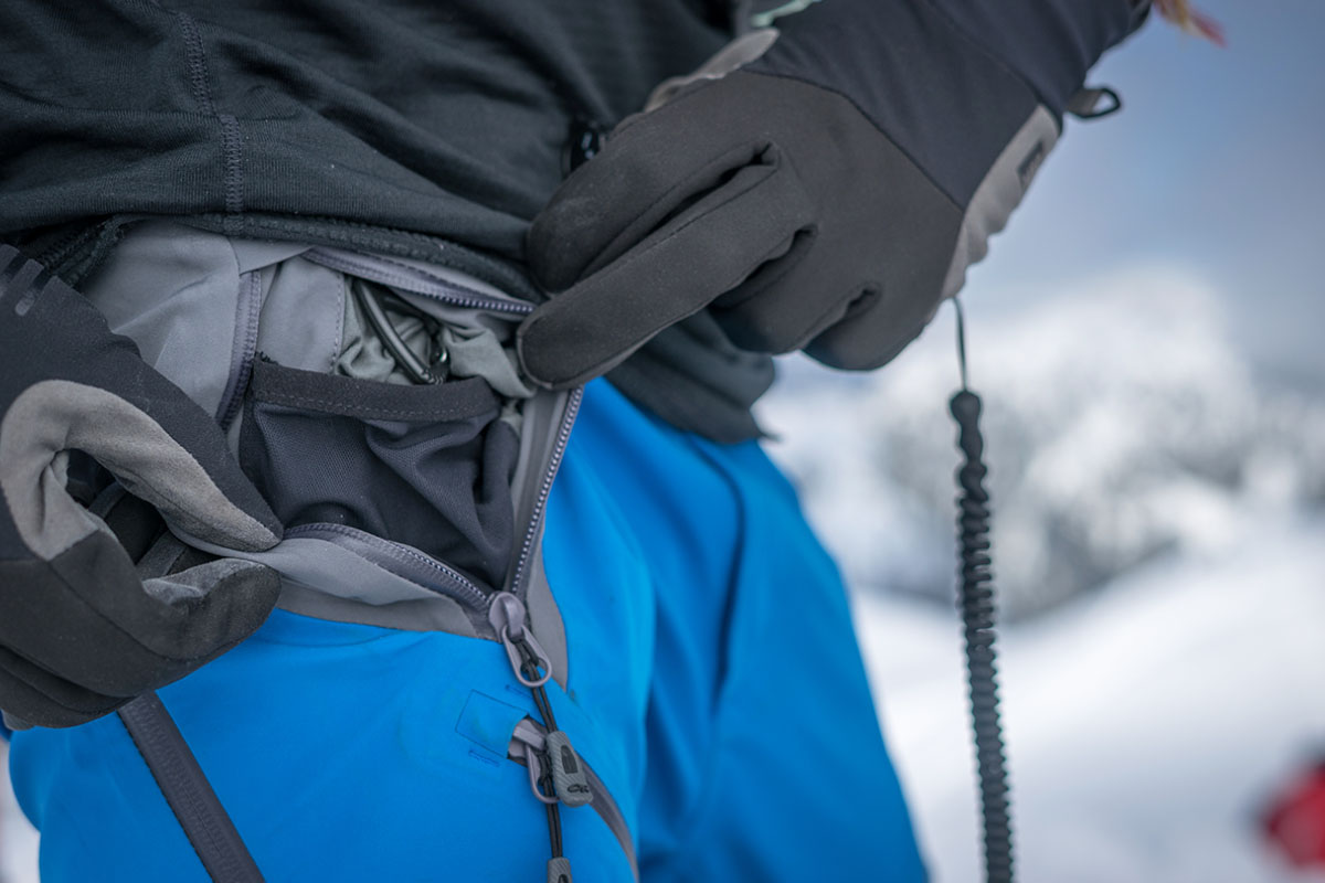 Outdoor Research Skyward II ski pants (storage)