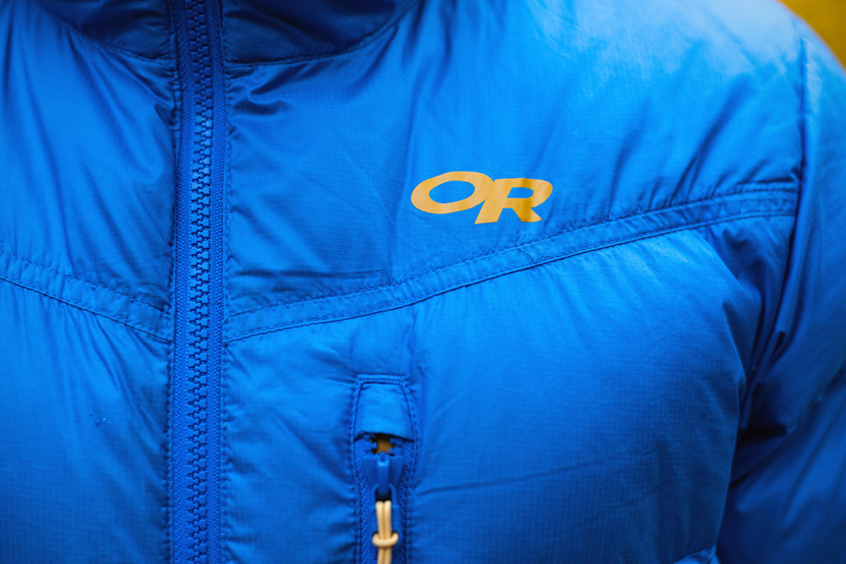 Outdoor Research Transcendent Hoody (close up)