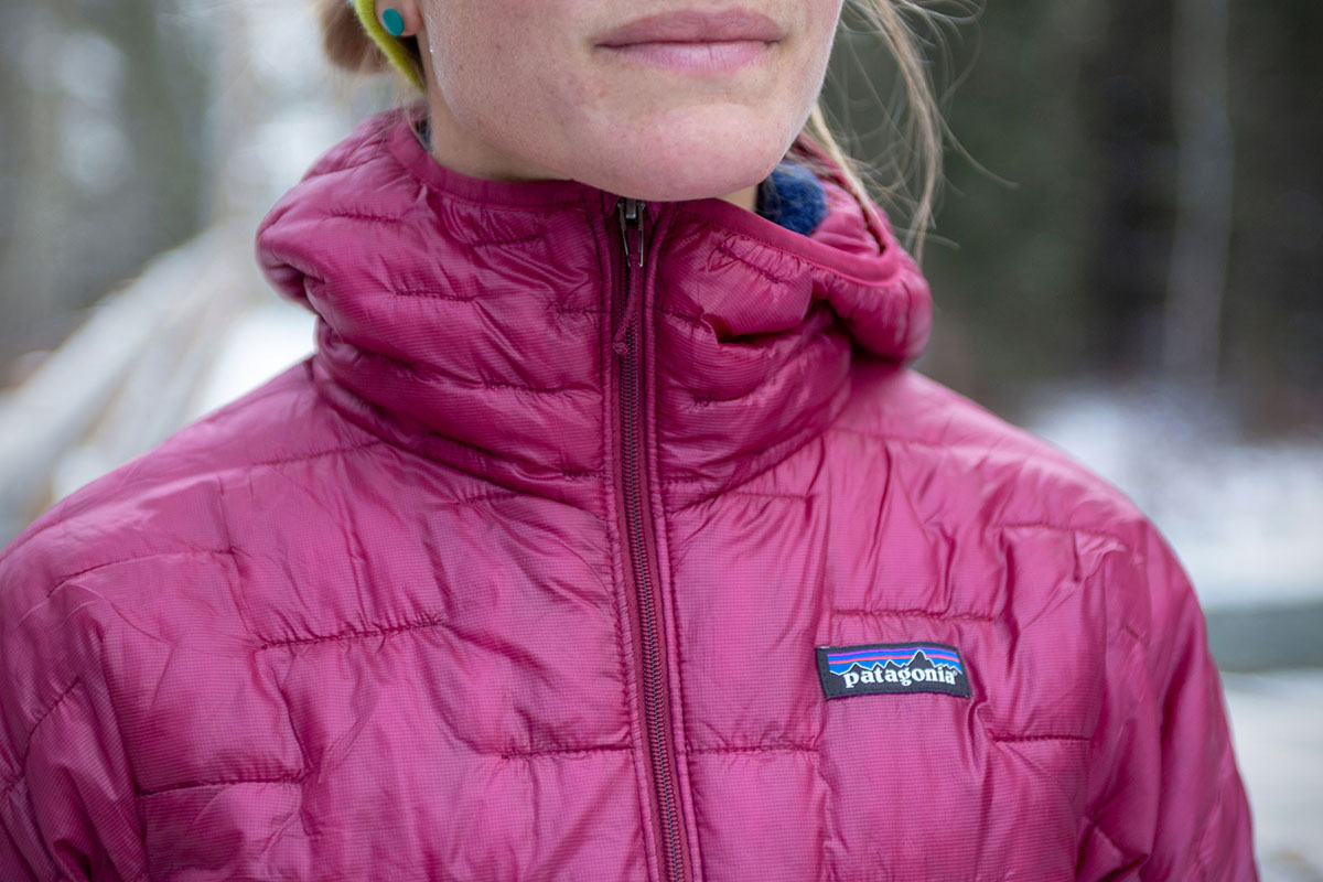 Patagonia Micro Puff (close-up)
