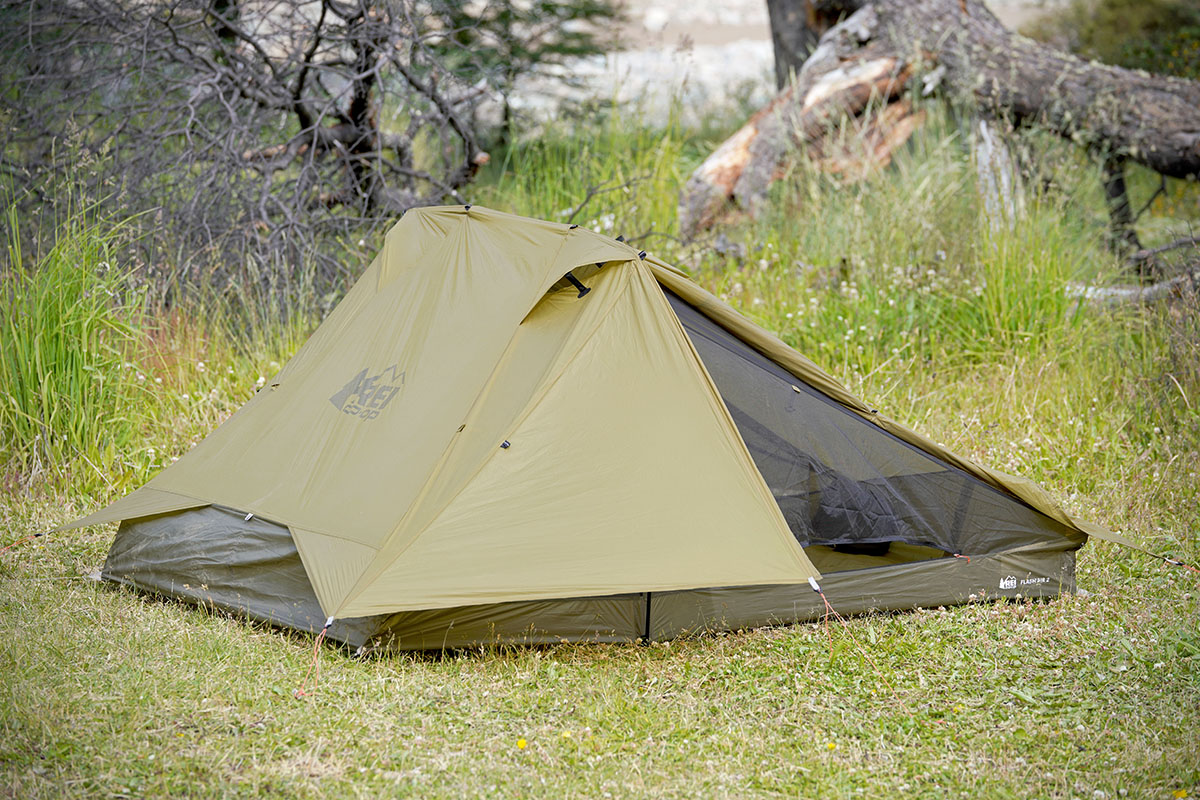 REI Flash Air 2 backpacking tent (in field 2)