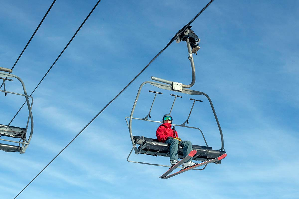 Rossignol Experience 88 Ti (chairlift)