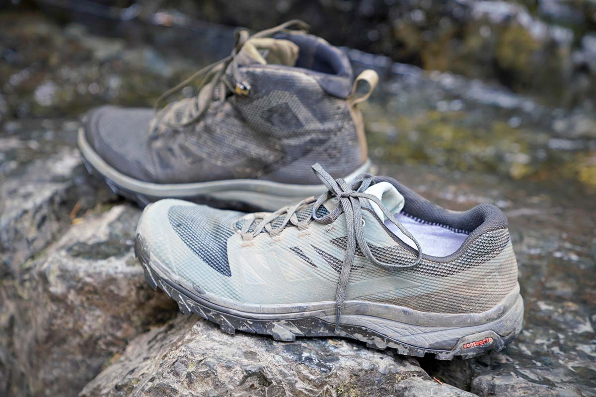 2019 Salomon OUTline GORE TEX Trail Running Shoe Review By