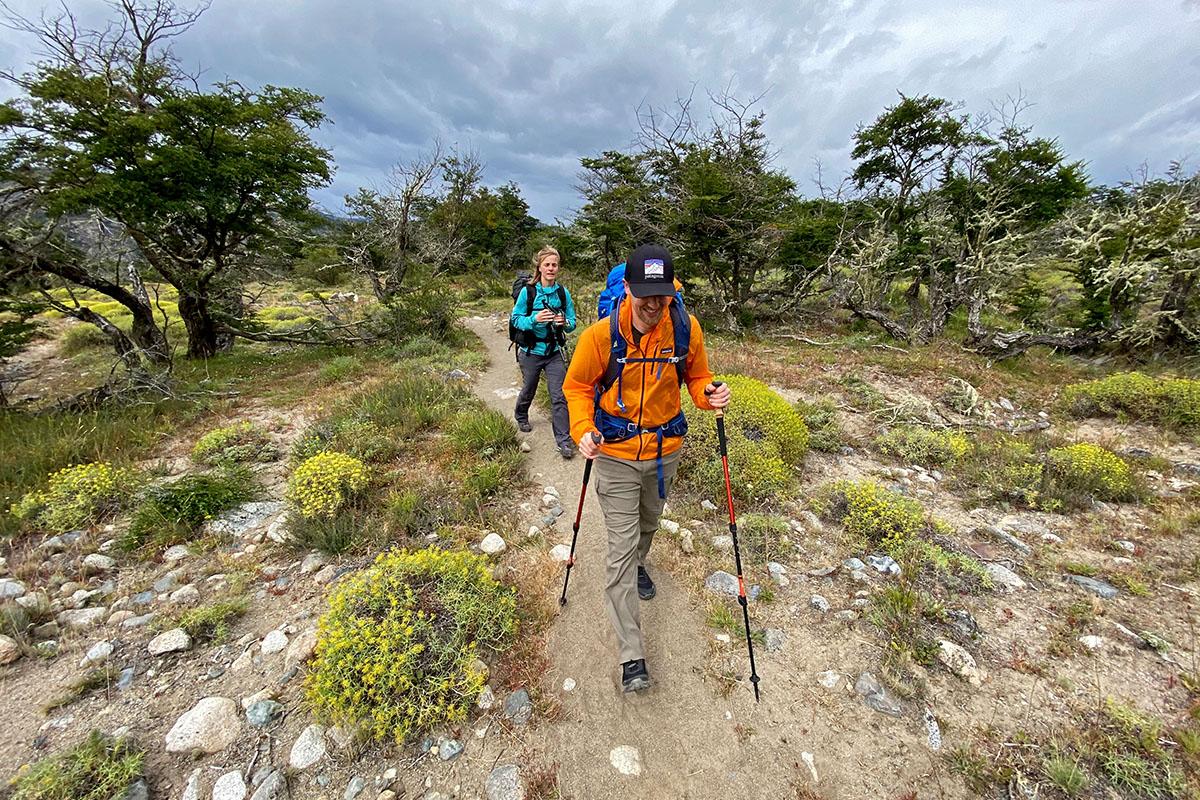 Salomon X Raise Low hiking shoes (Cerro Castillo trek)